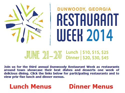 http://www.cvbdunwoody.com/things-to-do/annual-events/restaurant-week/