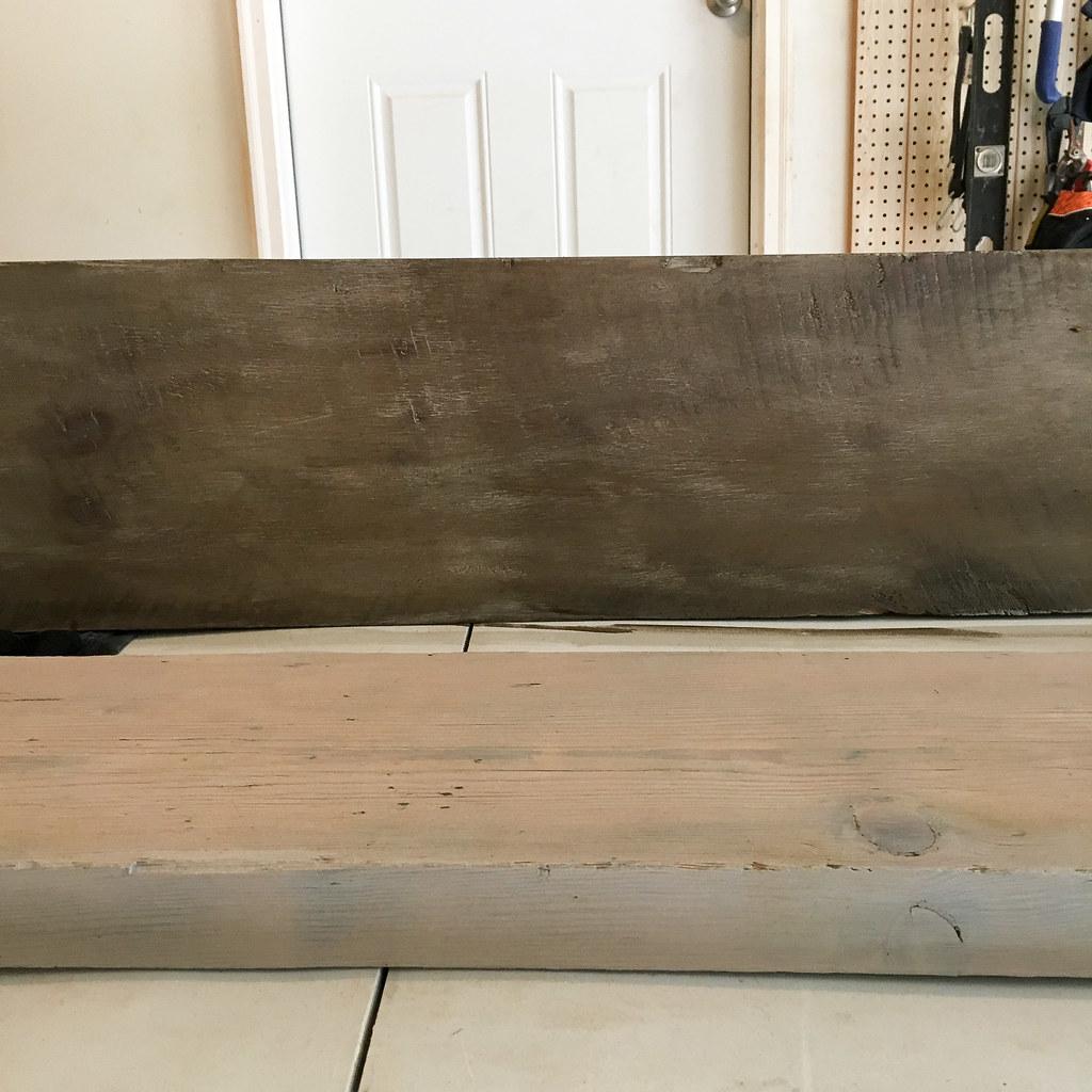 DIY Barnwood Shelves | graceinmyspace.com