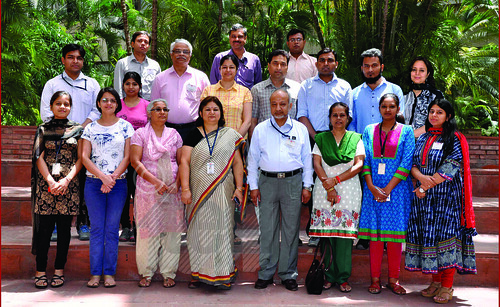 Participants at the 'Training Course on GC and HPLC Techniques'