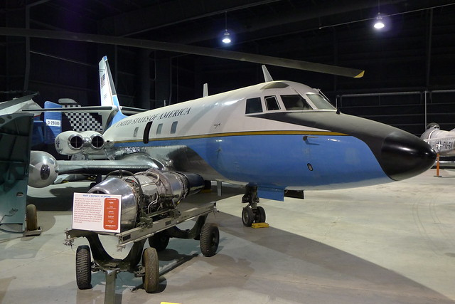 Lockheed VC-140B Jetstar