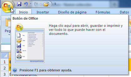 Microsoft Excel Bot 243 N De Inicio Tooltip Ayuda Flickr