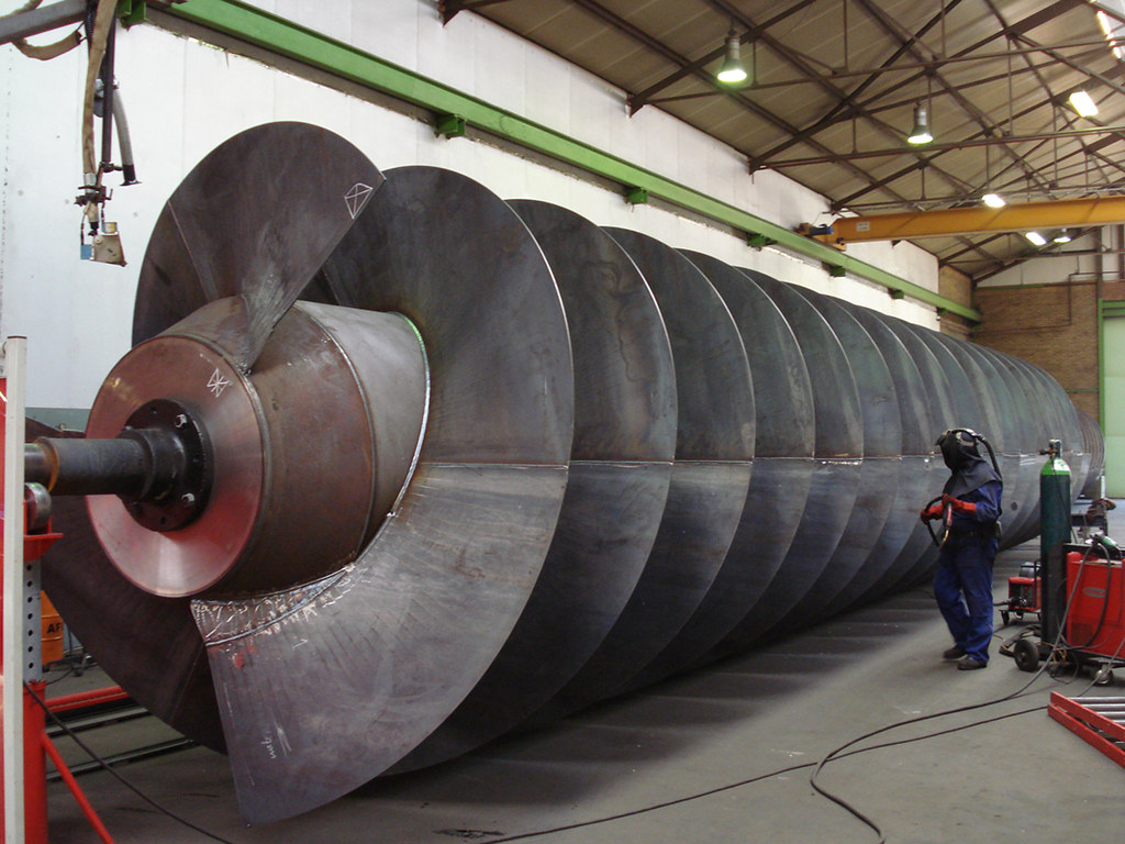 Largest Archimedes Screw Hydro Turbines Largest