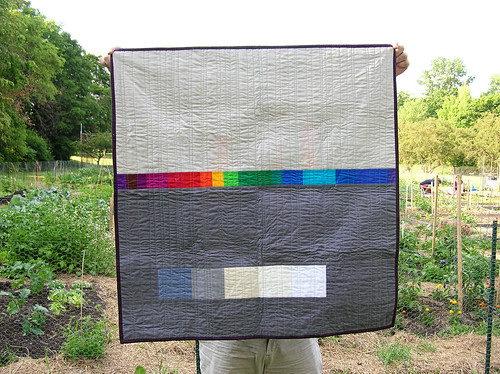 reflection quilt back | by greenleaf goods