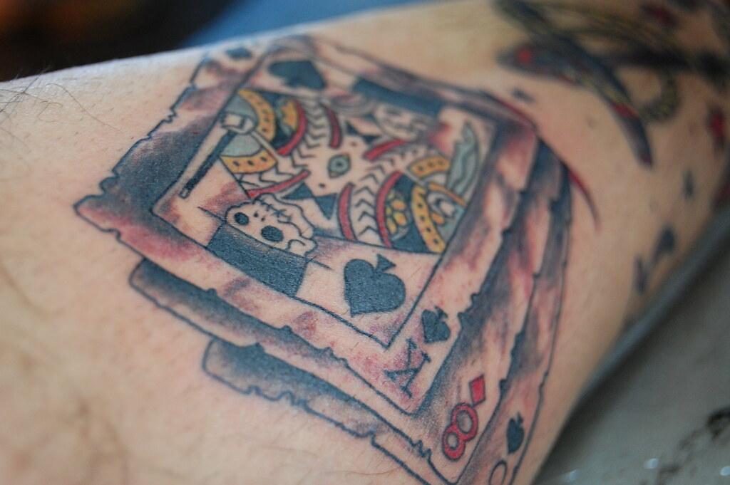 magician cards traditional tattoo tattoo by rodrigo varela flickr. Black Bedroom Furniture Sets. Home Design Ideas