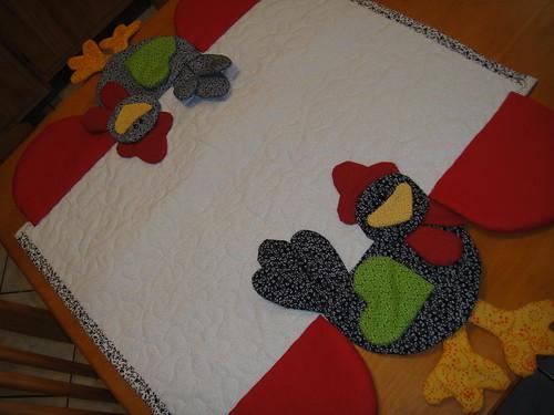 Toalha quadrada para mesa