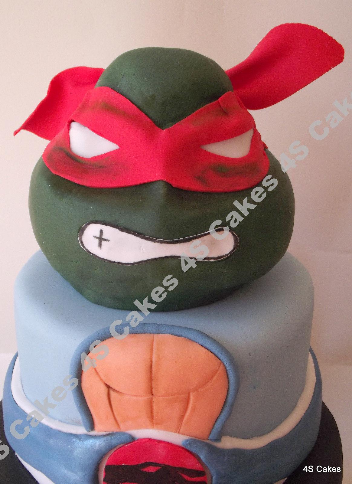 Ninja Turtle Head Cake 3d Ninja Turtle Head Cake