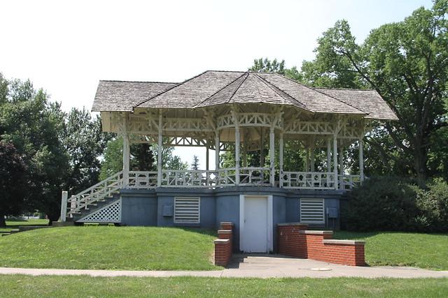 Jacksonville Il Gazebo Bandstand Community Park