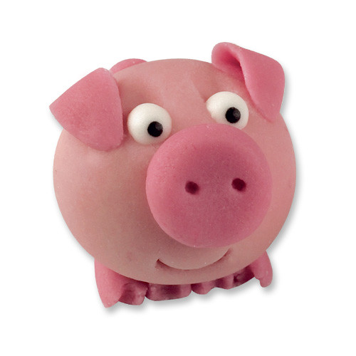 Gluecksschwein Aus Marzipan Gl 252 Cksschwein Mit Niedlichem