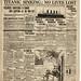 "Titanic: The World - April 15, 1912 ""No lives lost"""