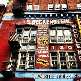 S. Beckenstein - Orchard Street - Lower East Side - New York City | by Vivienne Gucwa