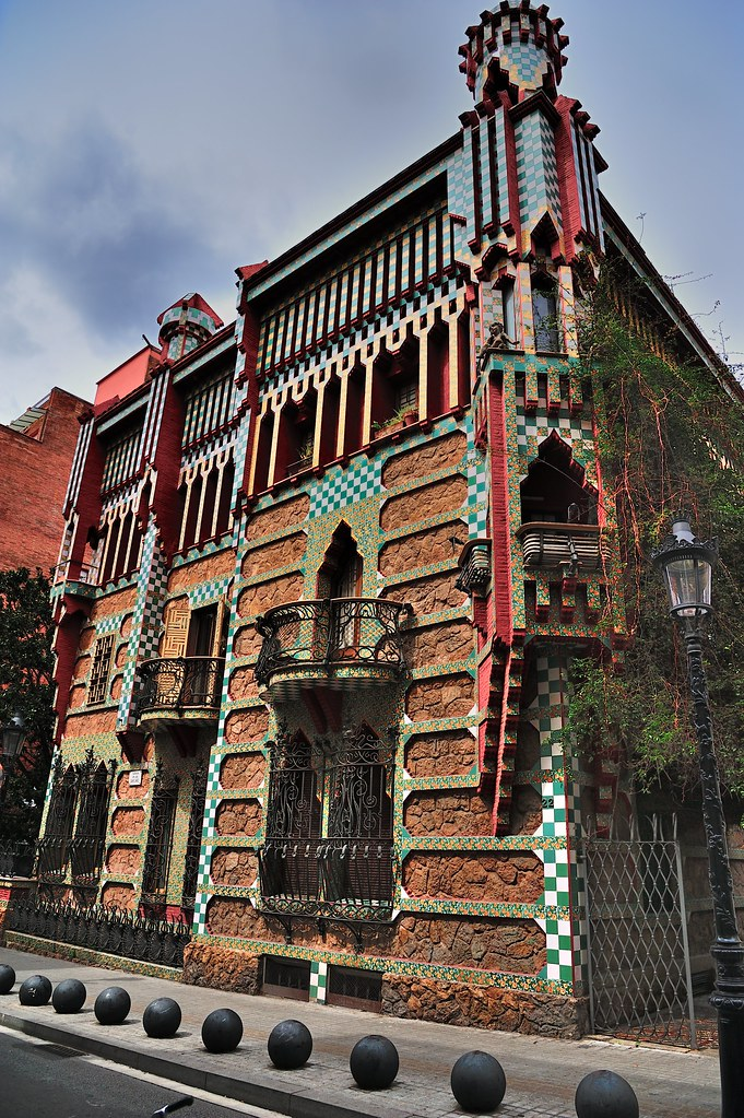 Casa Vicens Antoni Gaud 237 Barcelona Between 1883 And