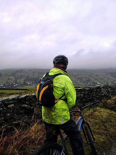 John looking at view the summit of climb up Dubbs Road. | by simeonorme