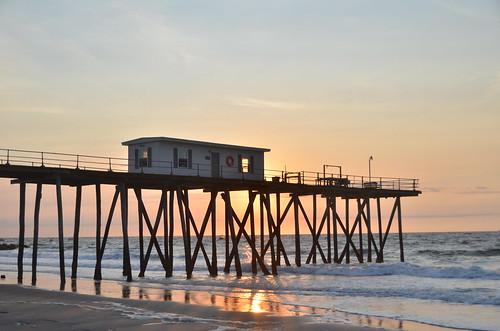 Sunrise fishing pier belmar nj rizzer1 flickr for Fishing report belmar nj