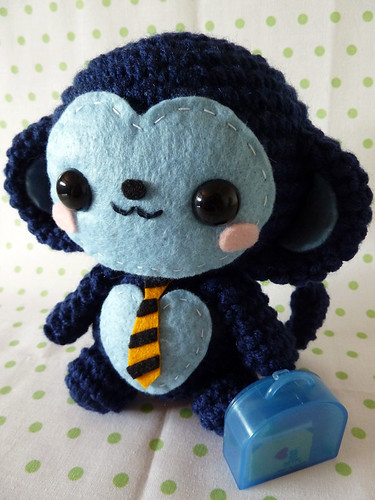 father's-day-monkey-amigurumi-17 | by janama315