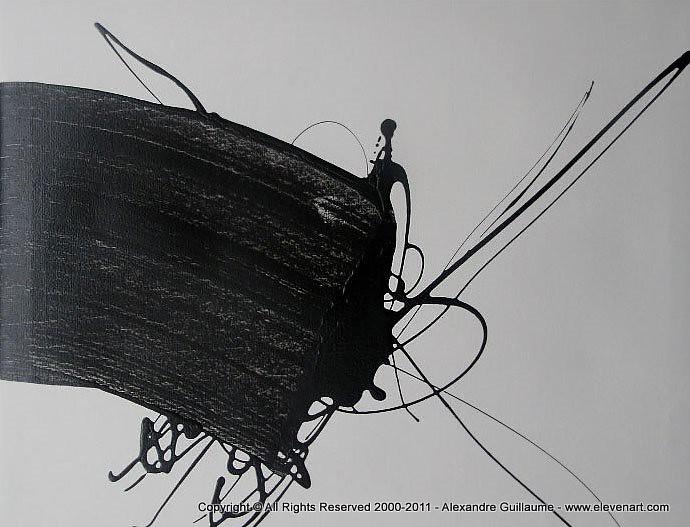 M255 peinture abstraite grise art contemporain paris l for Art contemporain abstrait