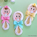 Cute Baby Face Rattles Cookies