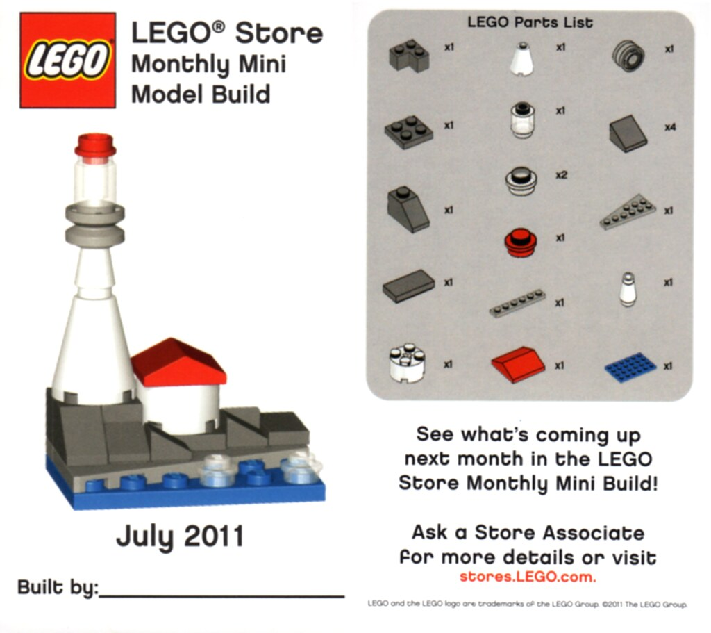 Lego Monthly Mini Build October  Werewolf Instructions
