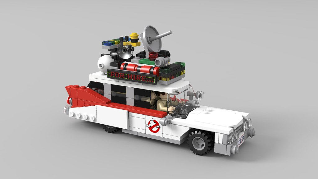lego ghostbusters ecto 1a now that lego is making a. Black Bedroom Furniture Sets. Home Design Ideas