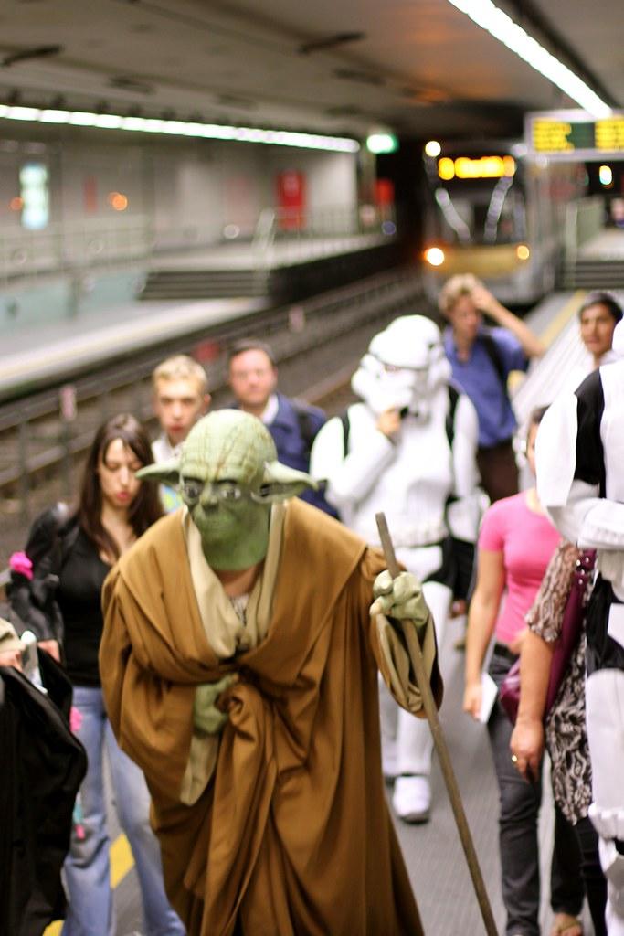 Rencontre dans le metro