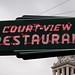 OH, Washington Court House-Court~View Restaurant Neon Sign