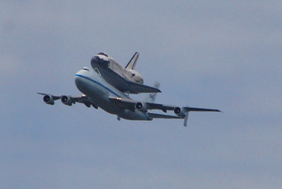 Space Shuttle Discovery over Arlington, VA | by BeyondDC