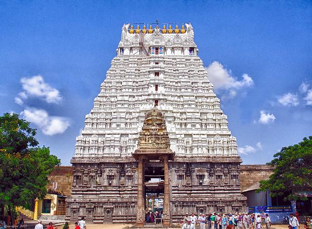 Varadharaja Perumal Temple. Kanchipuram. Храм Варадараджа Перумал (Девараджасвами). Канчипурам