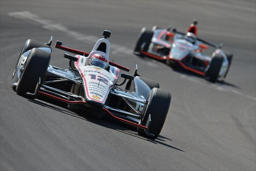 Will Power during practice | by indianapolismotorspeedway.com