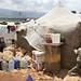 Syrian refugees have found temporary safety in Kafar Kahel informal settlement