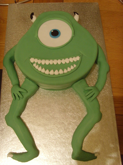 Monsters Inc Cake Decorating Ideas
