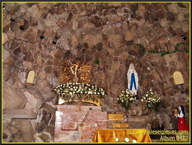 """Nuestra Señora De Lourdes: Templo Nuestra Señora De Lourdes """"La Gruta"""" Pueb…"""