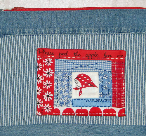 Red Kerchief Girl Pouch | by elnorac
