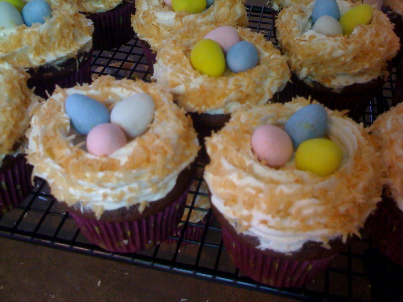 Easter Cupcakes And Cake Ideas
