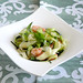 Salade de courgettes et crevettes à la coriandre
