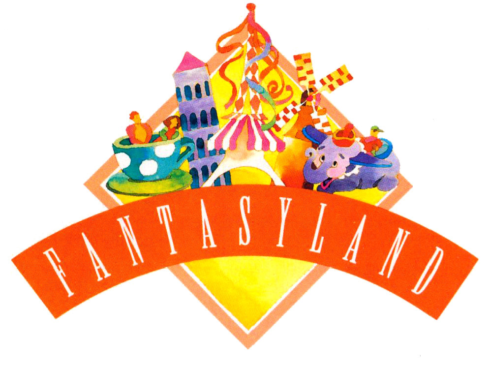 1992 disneyland logos fantasyland tom simpson flickr