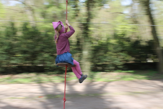 Panning and Zip Lining in Loučeň