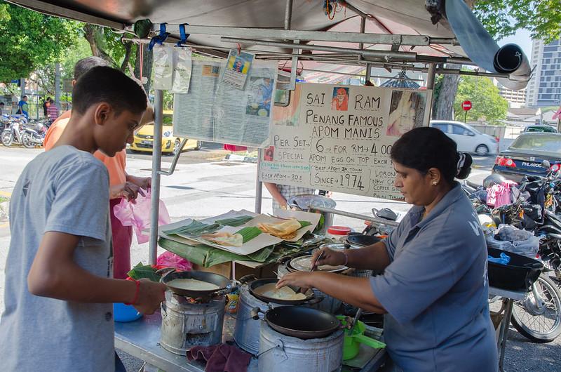 Penang Famous Apom Manis at Kedai Kopi New Cathay