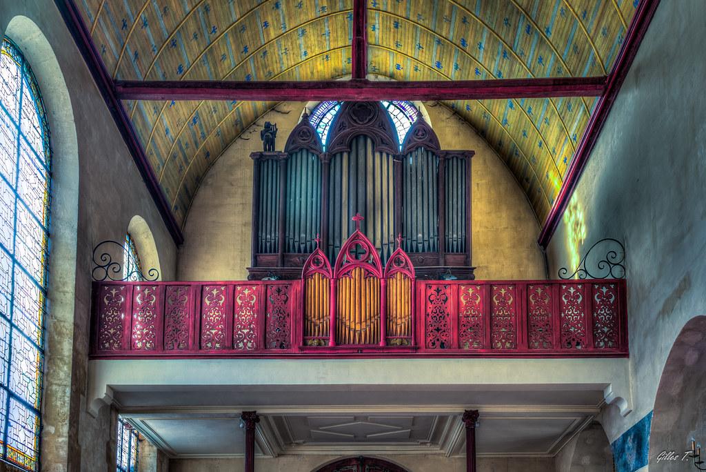 Église Saint-Acceul d'Écouen - HDR
