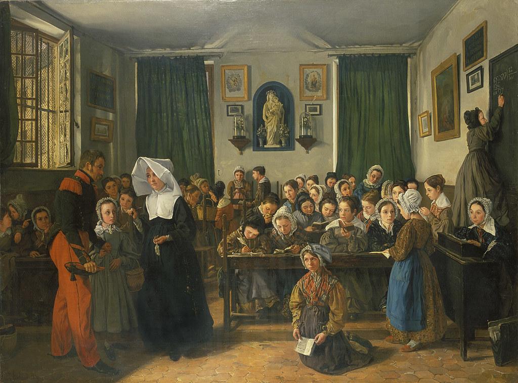 École chrétienne à Versailles.   1839 Antoinette ...