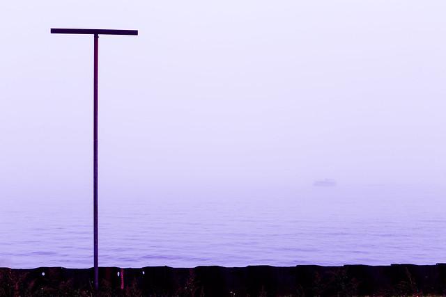 Lakefront Fog
