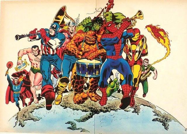 Merry Marvel Marching UK
