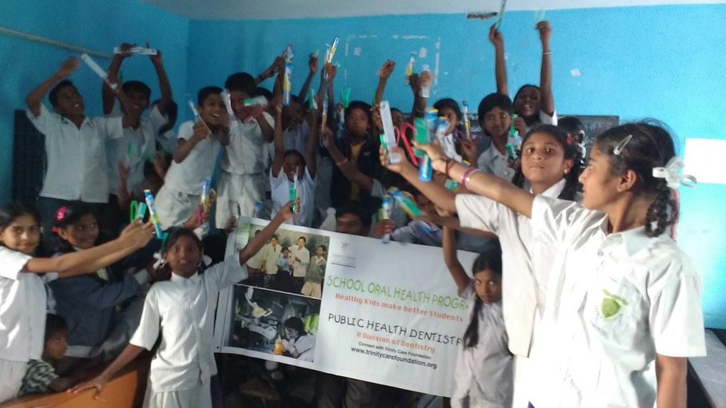 school dental health program in india pdf