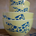 Custard Yellow Nesting Bowls