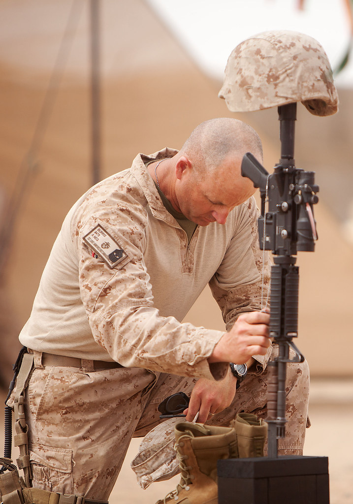 Marines honor, remember fallen brother in southern Helmand ...