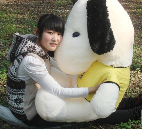 Large Stuffed Snoopy Dog