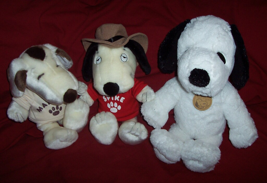Peanuts Daisy Hill Marbles And Spike With Hallmark Snoopy