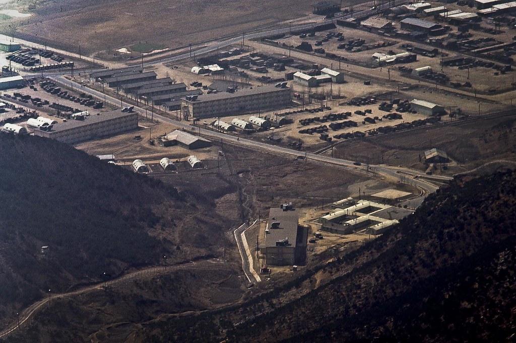 Seventh Medical Battalian Camp Casey Korea 1970 The