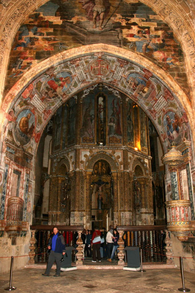 Tomar chapelle du couvent de l 39 ordre du christ la for Interieur d un couvent