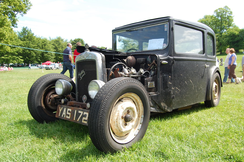 Awesome little Austin 7 hotrod | Guillermo Power | Flickr American Vintage