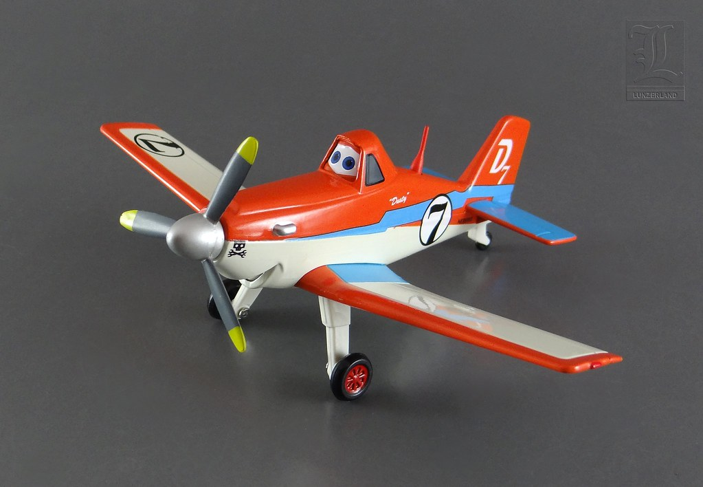 Disney Racing Dusty From The Movie Planes 1 43 Scale D
