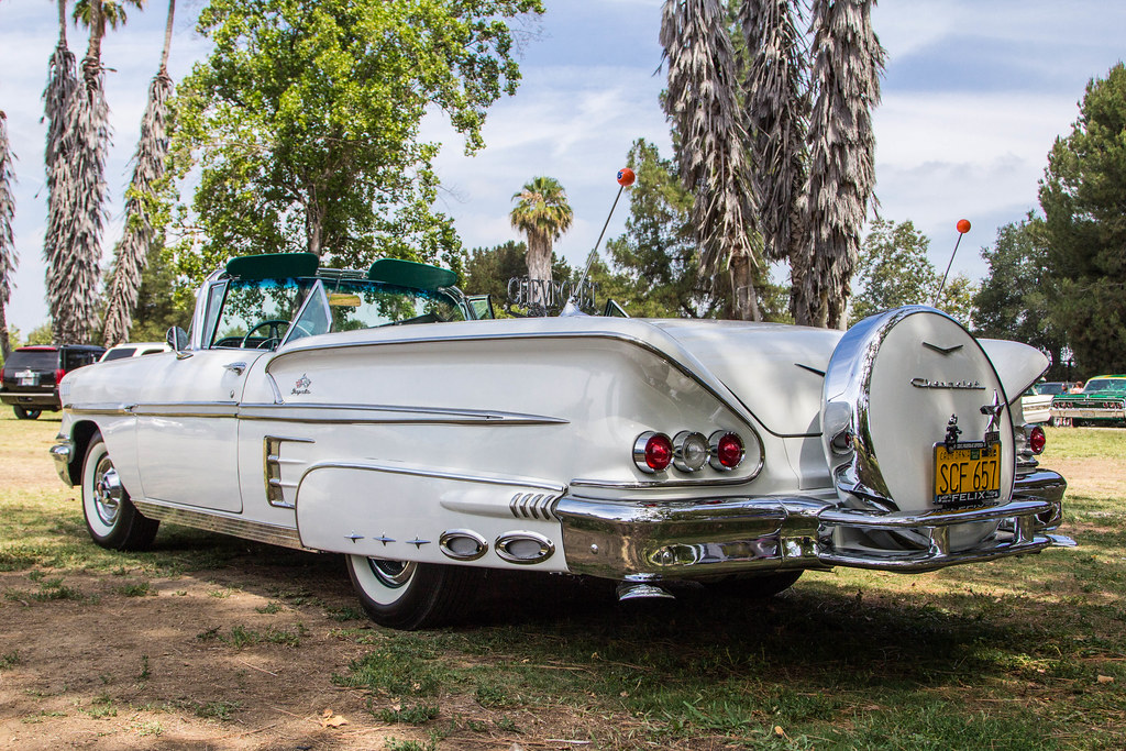 How To Park A Car >> 1956 Chevrolet Impala Convertible | @ Woodly Park - Lowrider… | Flickr